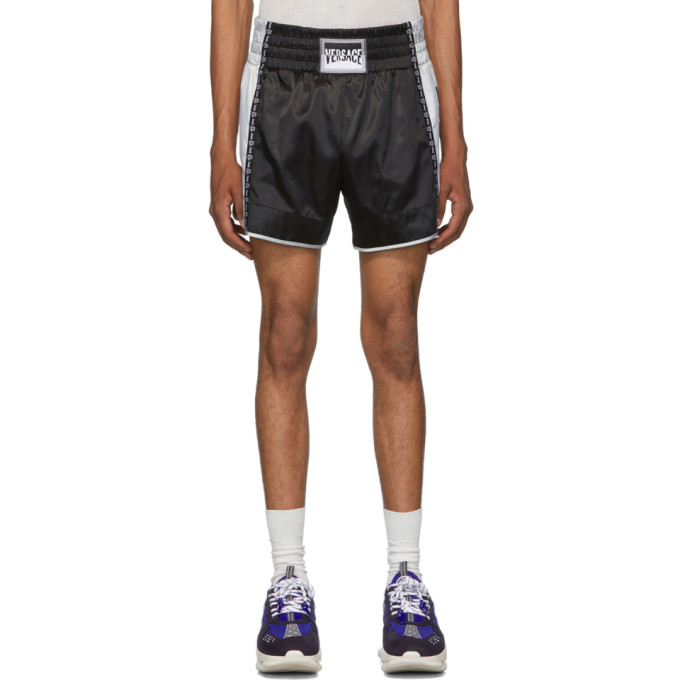 Versace Black Athletic Shorts