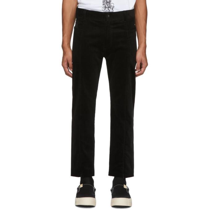 Sasquatchfabrix. Black Corduroy Pants