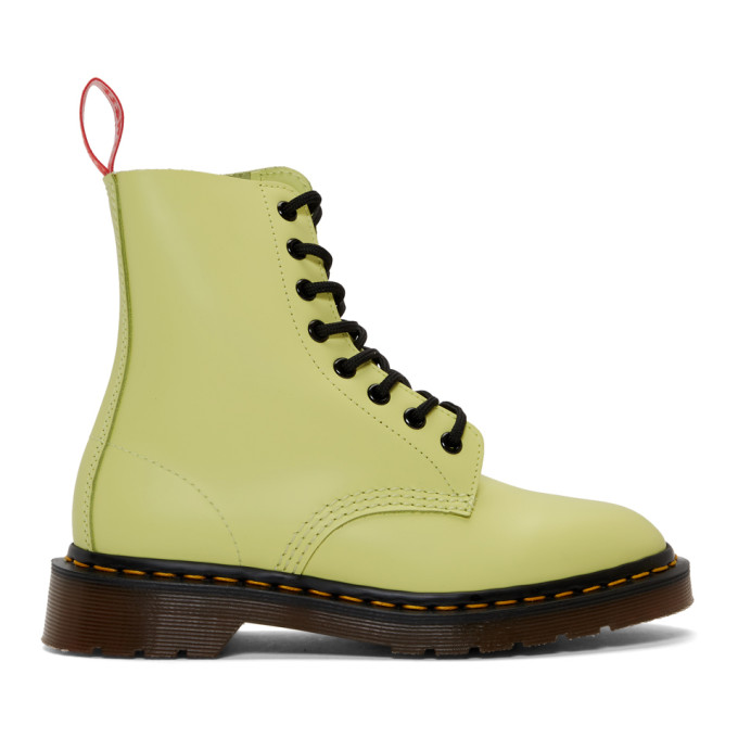 Undercover Yellow Dr. Martens Edition 1460 Boots