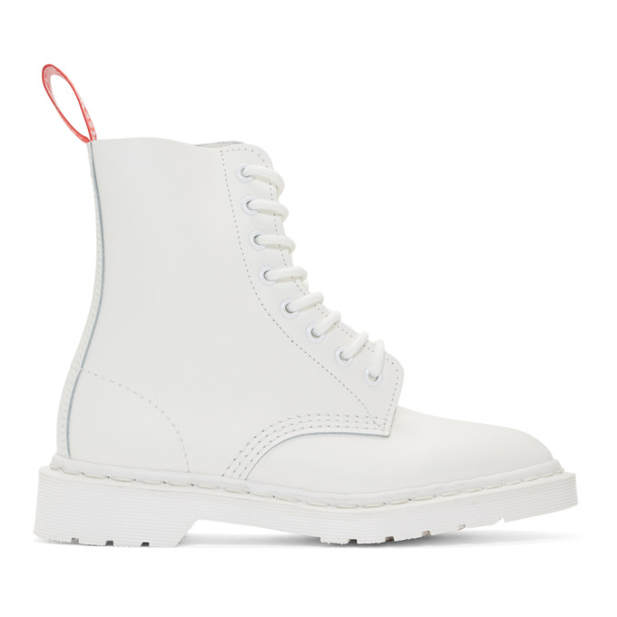 Undercover White Dr. Martens Edition 1460 Boots