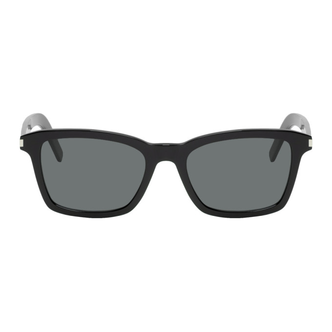 SAINT LAURENT | Saint Laurent Black SL 283 Slim Sunglasses | Goxip