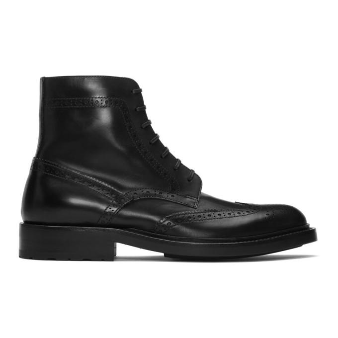 Saint Laurent Black Army 20 Combat Boots