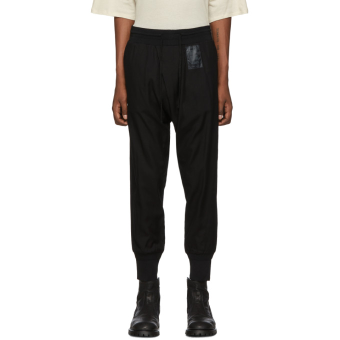 Julius Pantalon noir Tucked