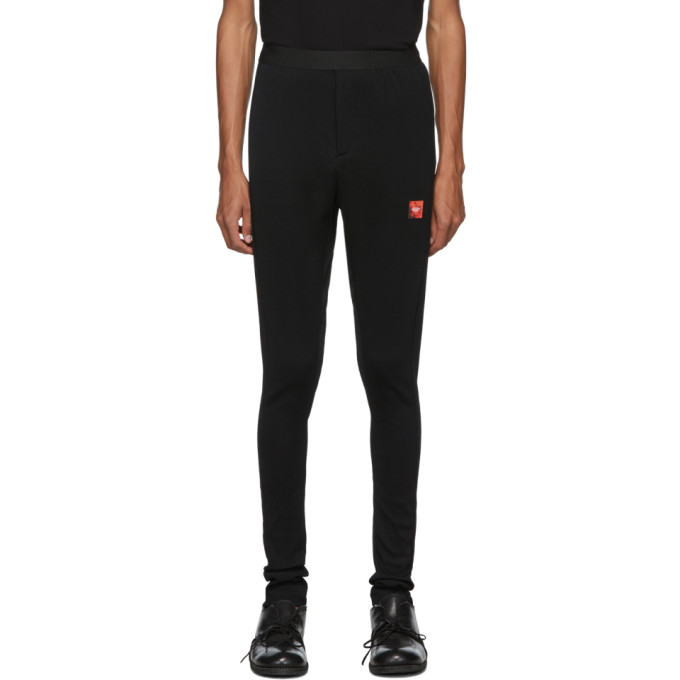Julius Pantalon de survetement cotele noir Long John