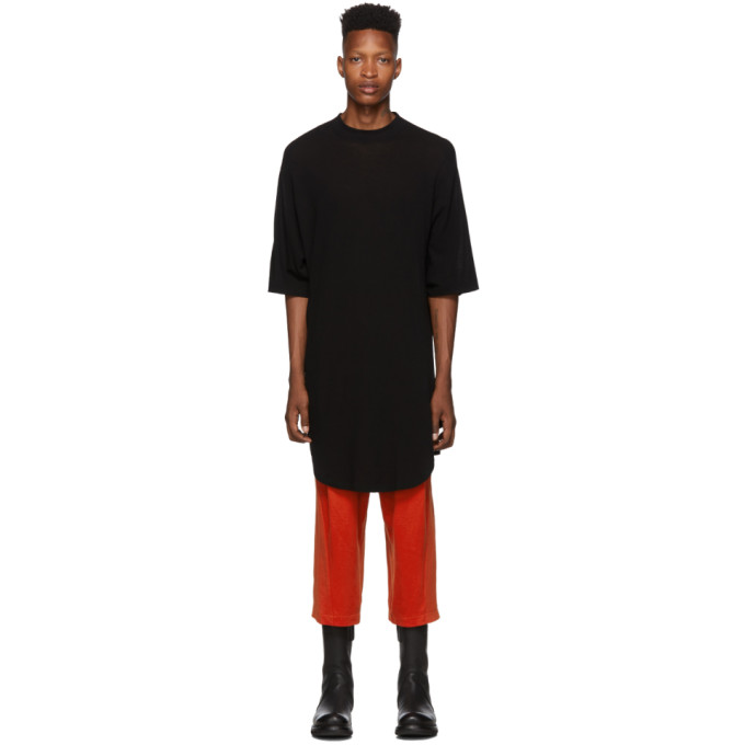 Julius T-shirt noir Draping