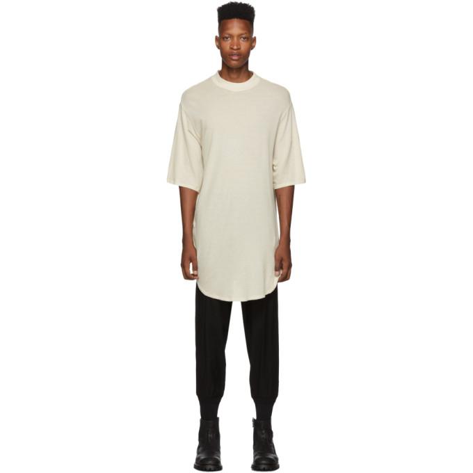 Julius Beige Draping T-Shirt