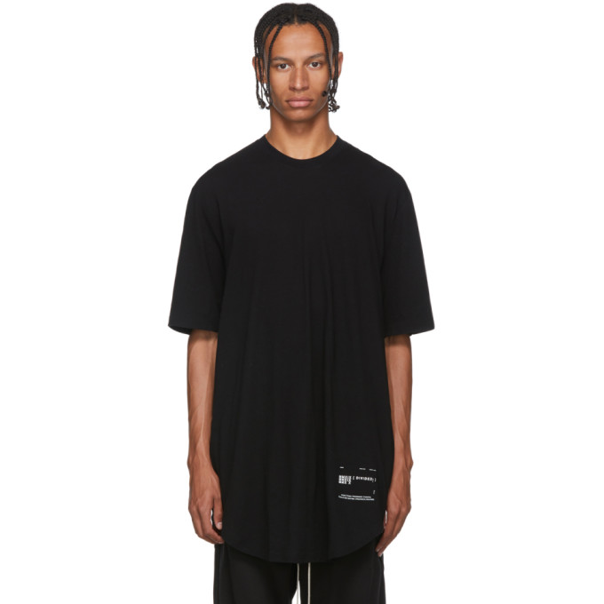 Julius T-shirt noir Draped