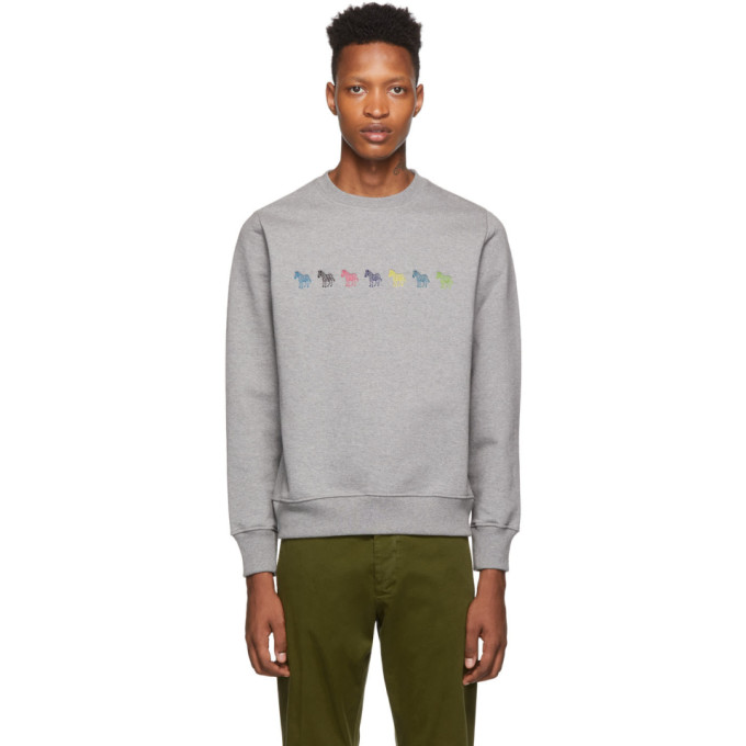 PS by Paul Smith Grey Regular Fit Sweatshirt