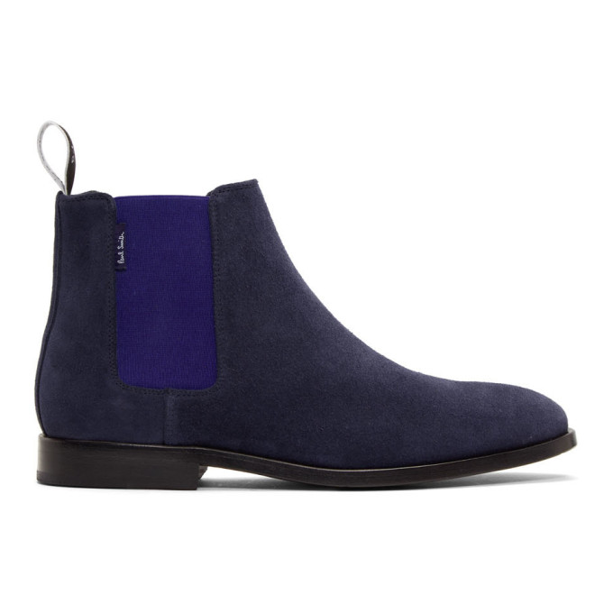 PS by Paul Smith Navy Gerald Chelsea Boots