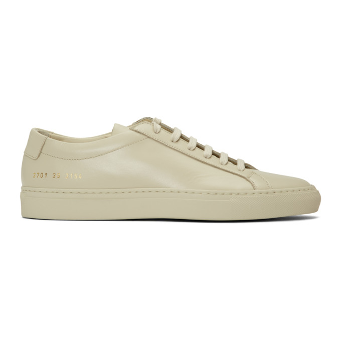 Woman by Common Projects Off-White Original Achilles Low Sneakers