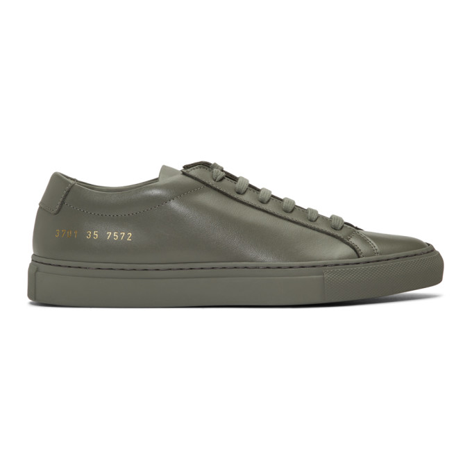 Woman by Common Projects Grey Original Achilles Low Sneakers