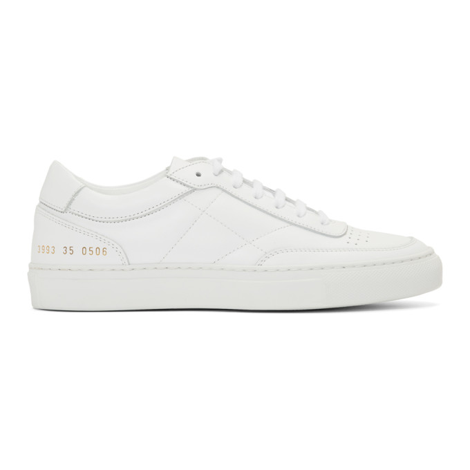 Woman by Common Projects White Resort Classic Sneakers