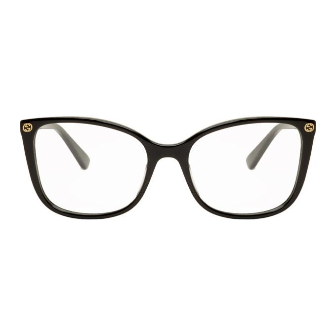 GUCCI | Gucci Black Square Glasses | Goxip