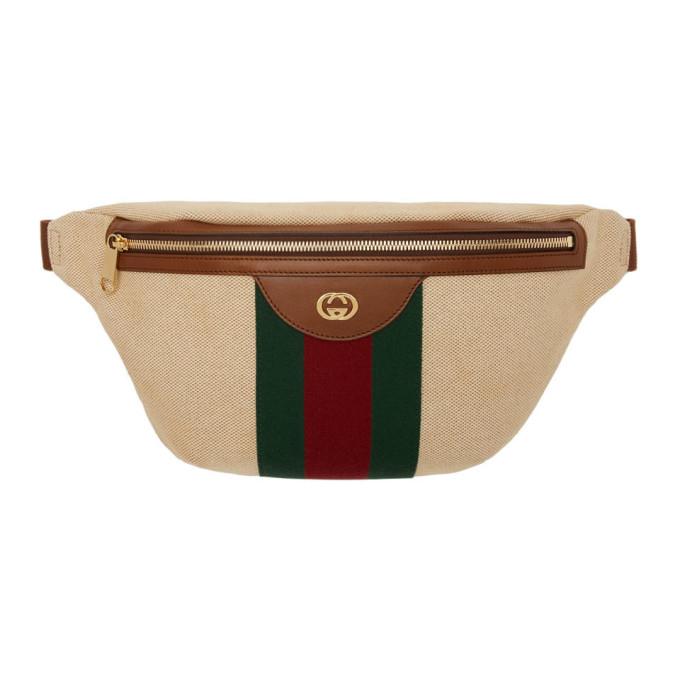 Gucci Belt GUCCI BEIGE GG VINTAGE BELT BAG