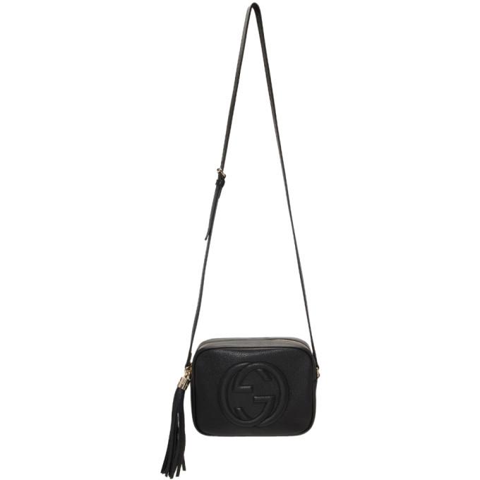 GUCCI | Gucci Black Small Soho Disco Bag | Goxip