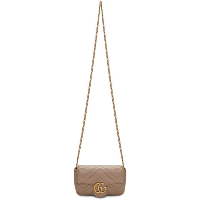 GUCCI | Gucci Pink Super Mini GG Marmont Bag | Goxip