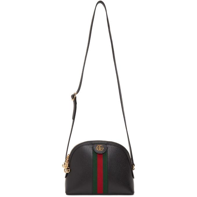 Gucci 0 GUCCI BLACK SMALL OPHIDIA BAG