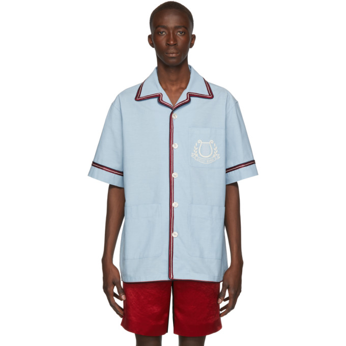Gucci Chemise bleue Gucci Band