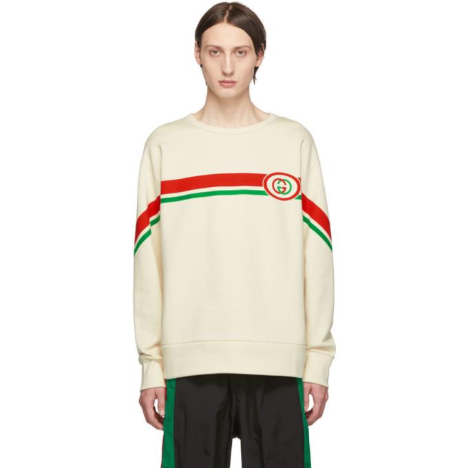 GUCCI | Gucci Off-White Interlocking G Sweatshirt | Goxip