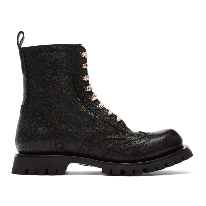 Gucci Black New Arley Boots