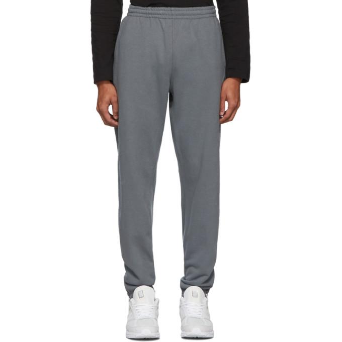 Nanamica Pantalon de survetement en jersey bouclette gris