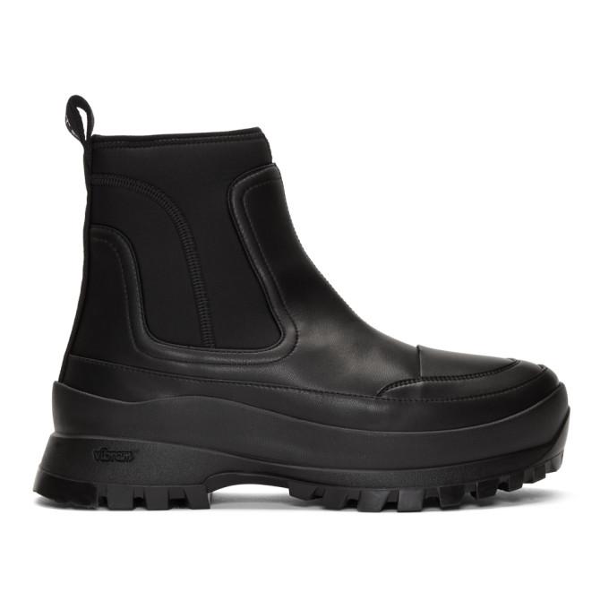 Stella McCartney Black Utility Boots