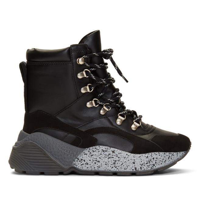 Stella McCartney Black Eclypse Boots
