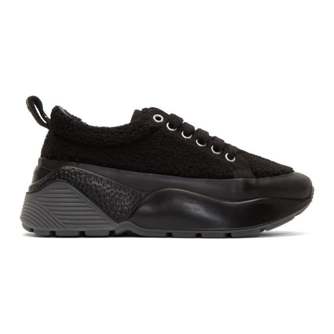 Stella McCartney Black Sherpa Eclypse Sneakers