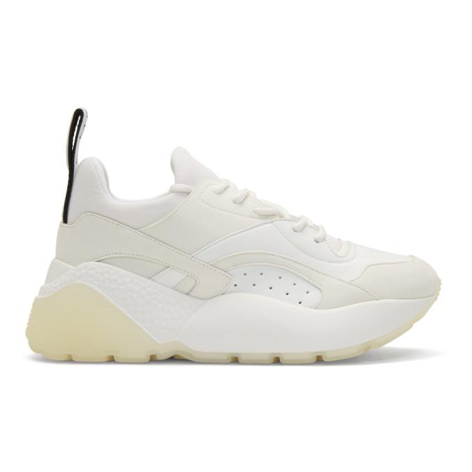 Stella McCartney White Eclypse Sneakers