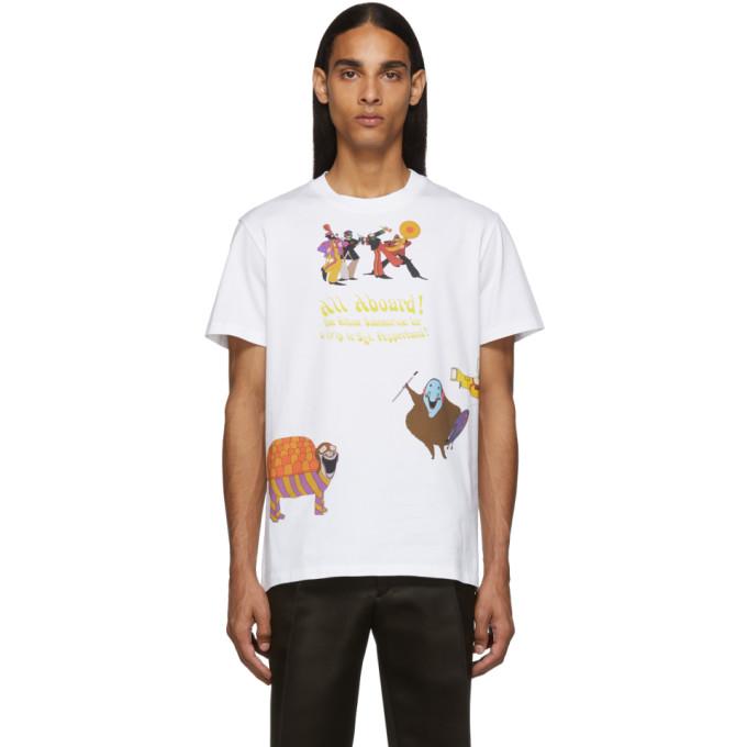 Stella McCartney White The Beatles Edition Creatures T-Shirt