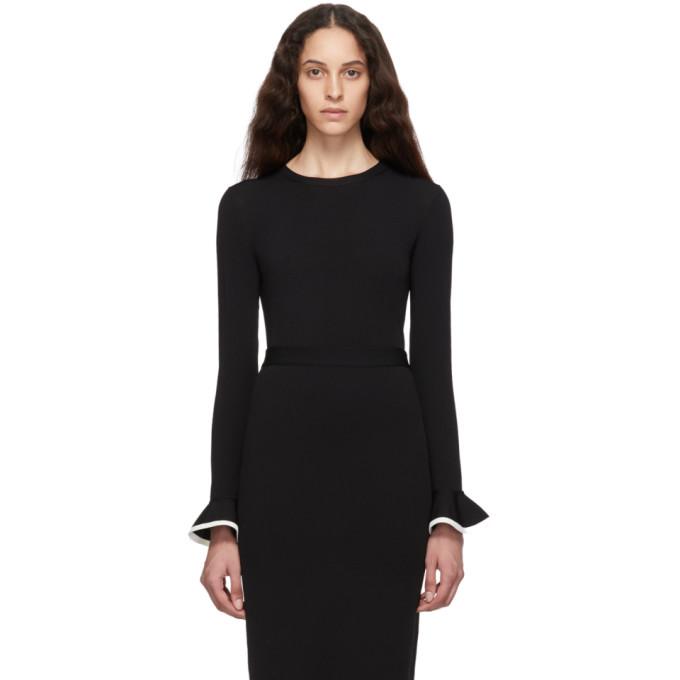 VALENTINO | Valentino Black Viscose Sweater | Goxip