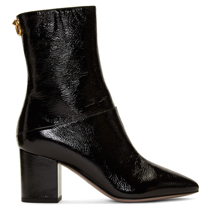 Valentino Black Valentino Garavani Loop Boots