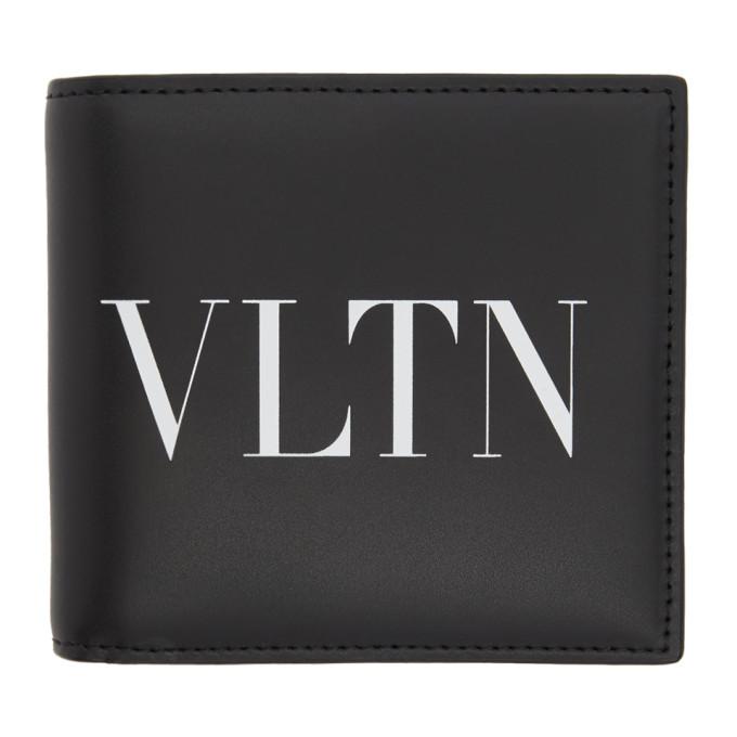 Valentino Valentino Garavani コレクション ブラック VLTN ウォレット