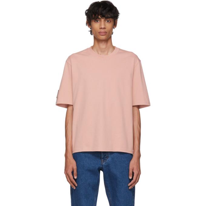 AMI Alexandre Mattiussi Pink 9 T-Shirt