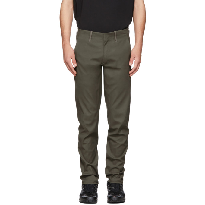 Veilance Green Indisce Trousers