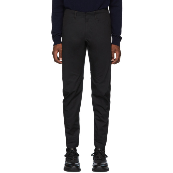 Veilance Pantalon noir Voronoi