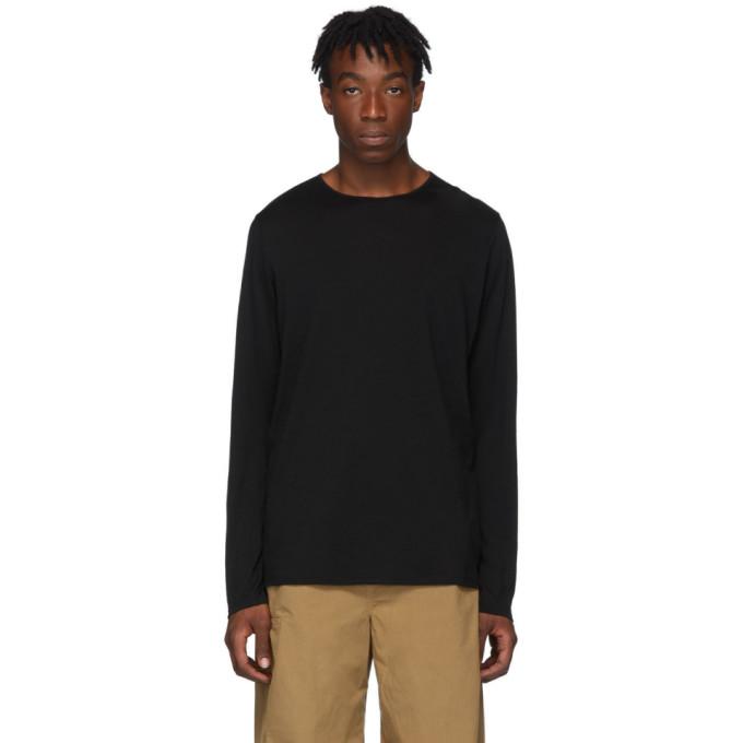 Veilance Black Frame Long Sleeve T-Shirt