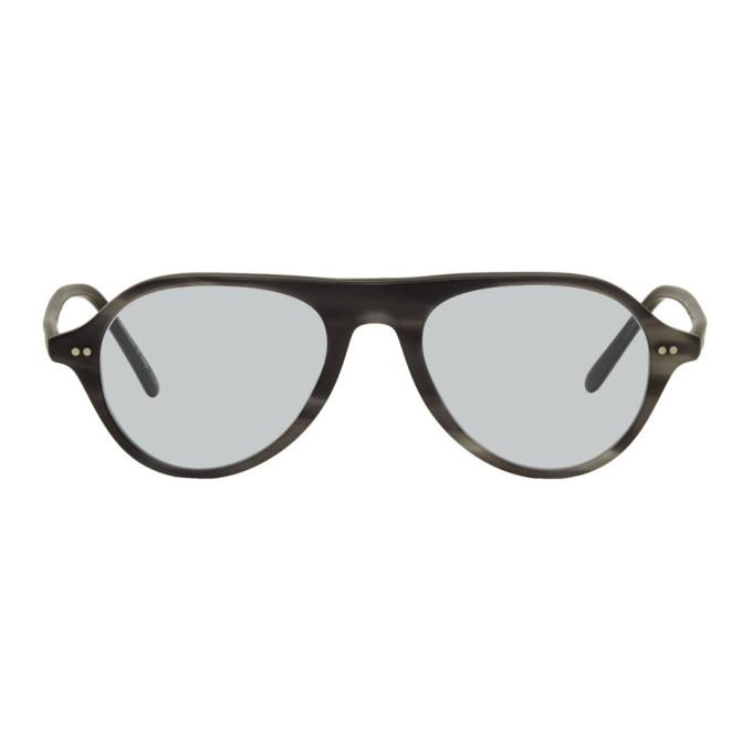 Oliver Peoples Grey Emet Sunglasses