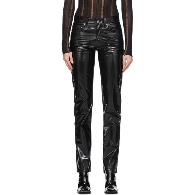 Yang Li Pantalon noir Samizdat