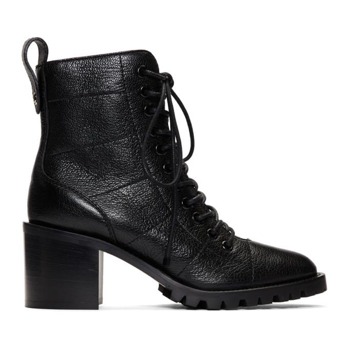 Jimmy Choo Black Cruz Heeled Ankle Boots