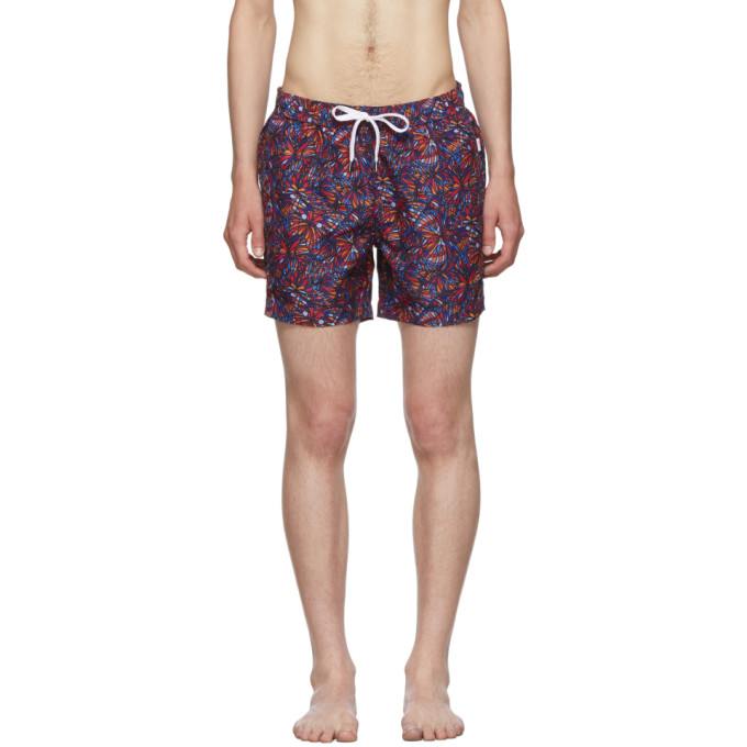 Onia Maillot de bain multicolore Butterflies Charles