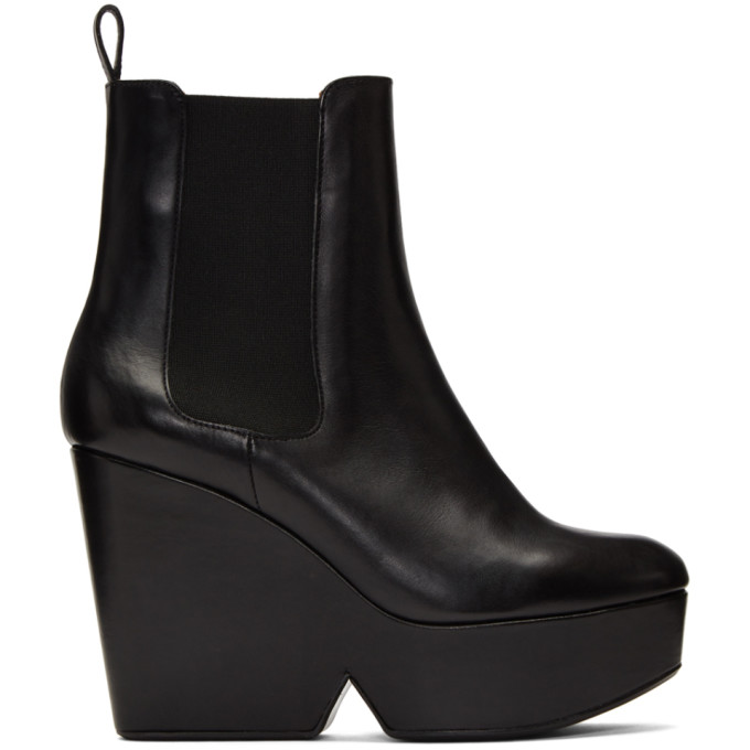 Clergerie Black Beatrice 2 Platform Boots
