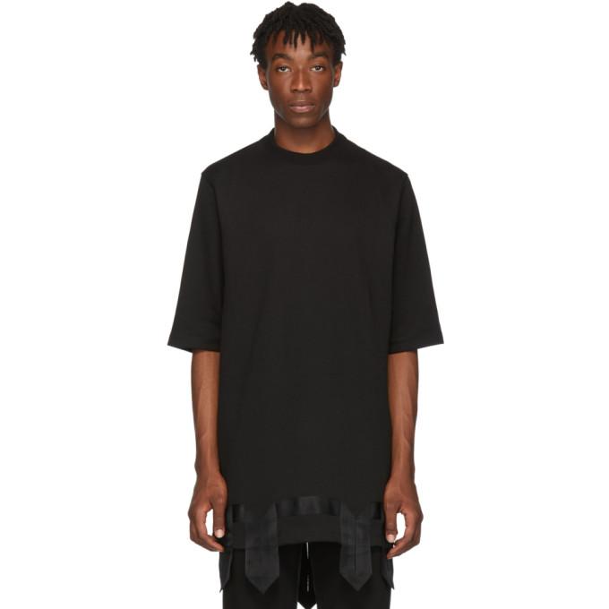 D.Gnak by Kang.D T-shirt noir Tape Detail