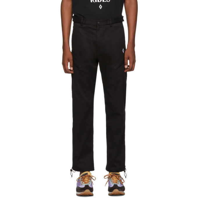 Marcelo Burlon County of Milan Black Cross Trousers
