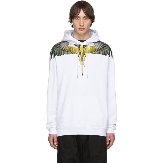 Marcelo Burlon County of Milan White Wings Hoodie