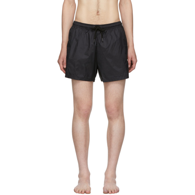 Marcelo Burlon County of Milan Maillot de bain noir Cross