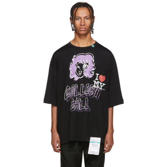 Miharayasuhiro T-shirt noir Collect Call