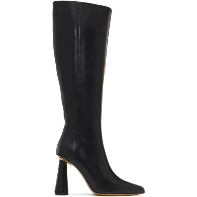 Jacquemus Black Les Bottes Leon Haute Boots