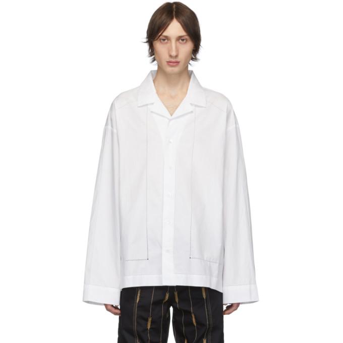 Jacquemus Chemise blanche La Chemise Drap