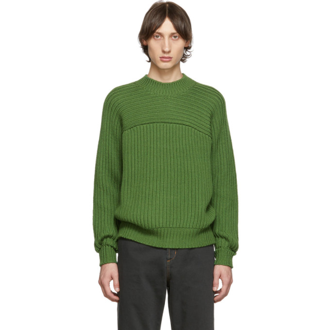 Jacquemus Green La Maille Louis Sweater